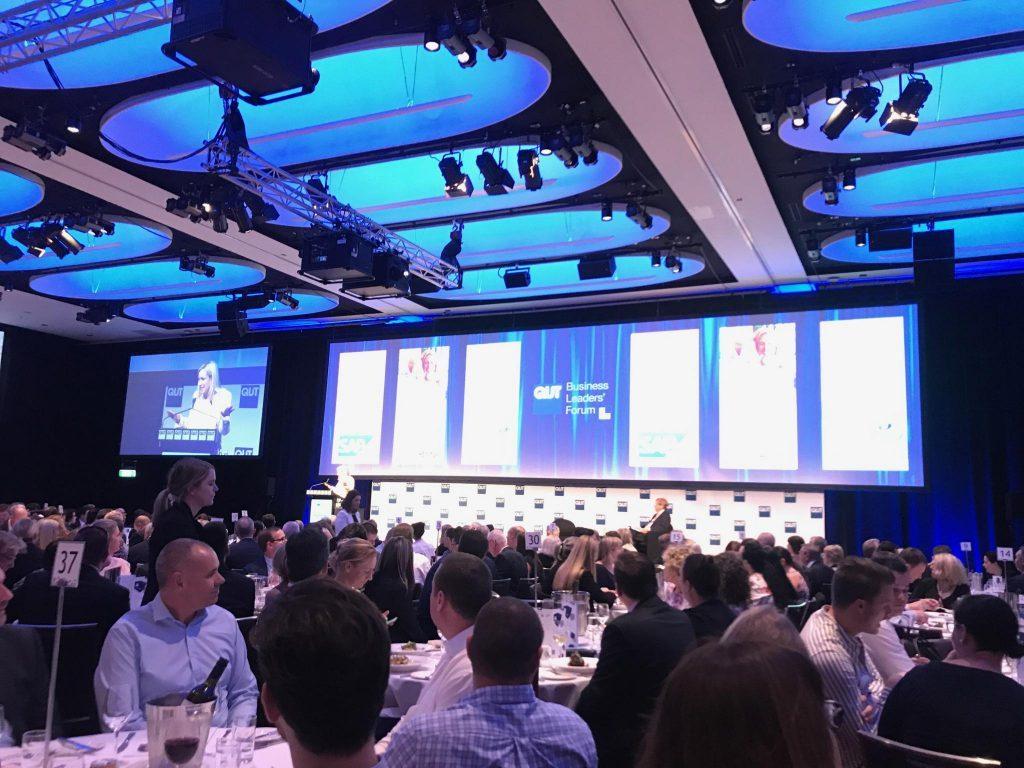 Australia Post's Christine Holgate discusses leadership